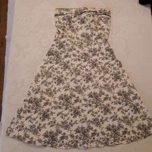Just choon strapless dress